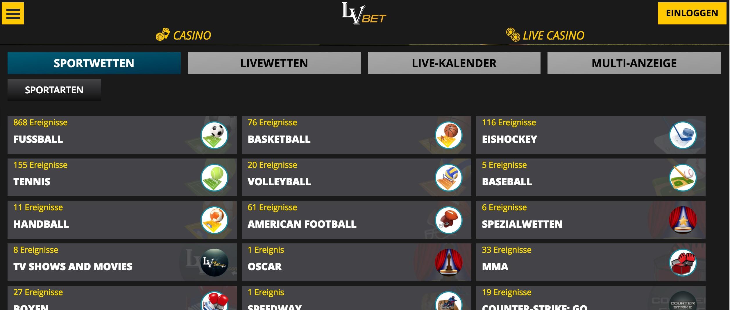 sportwettenschweiz.net LVBet wetten