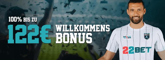 22bet schweiz bonus