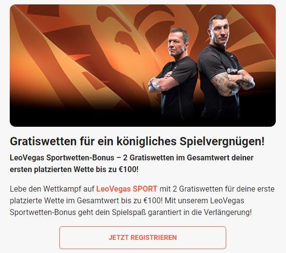 leovegas sportwetten bonus schweiz