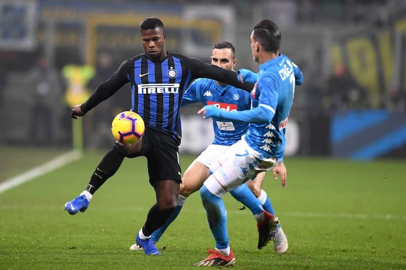 Inter versus Neapel