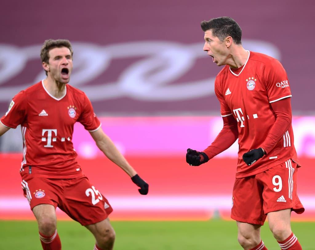 Bundesliga Tipps Bayern München Müller und Lewandowski jubeln