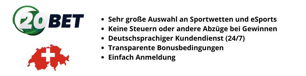 20Bet Bonus Banner Schweiz