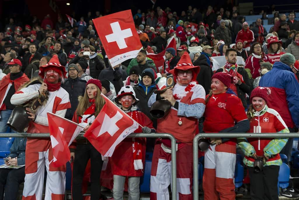 Schweiz Fans