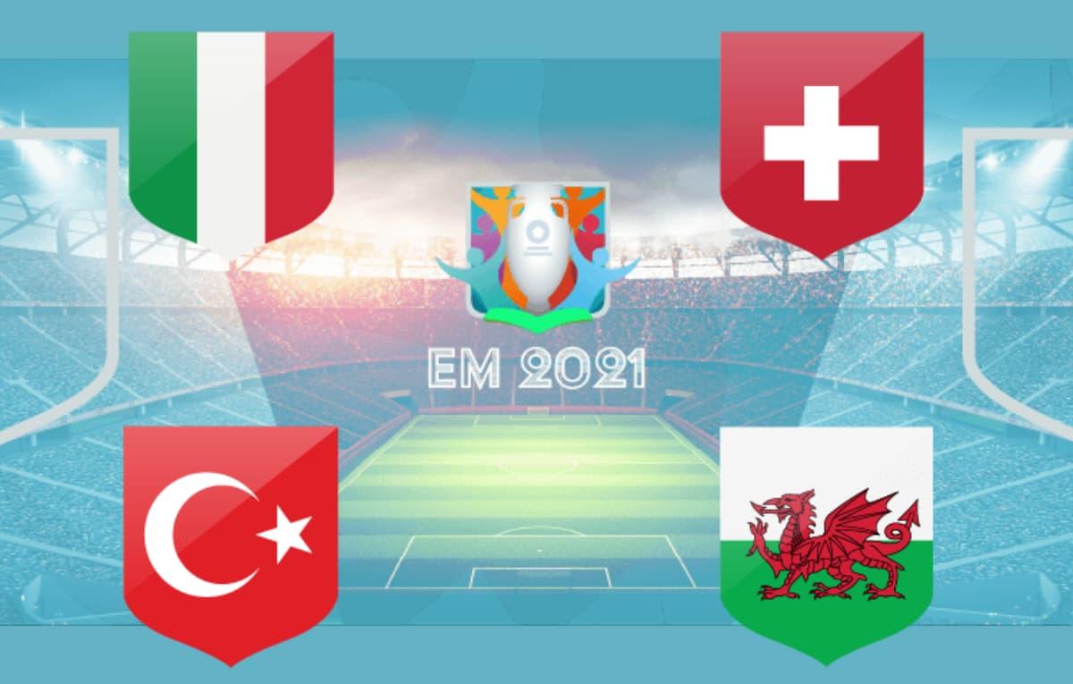 EM 2021 - Wer wird Gruppensieger Gruppe A?