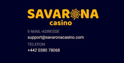 Savarona Schweiz - Kundendienst